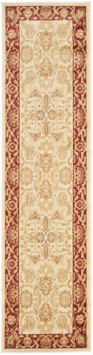 Safavieh Heirloom HLM1666-1140 Creme / Red Rug