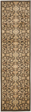 Safavieh Heirloom HLM1671-2520 Brown / Gold Rug