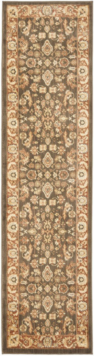Safavieh Heirloom HLM1740-2537 Brown / Rust Rug