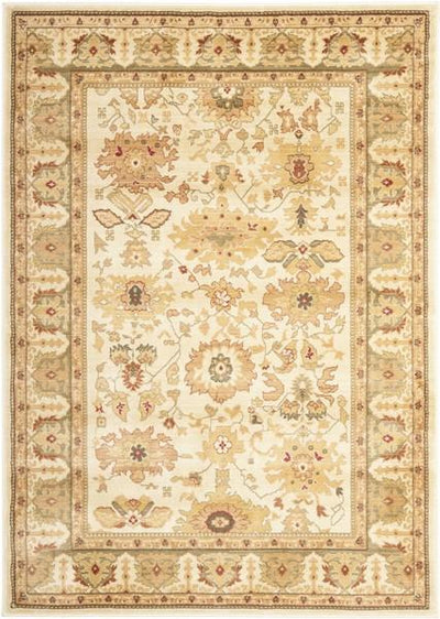 Safavieh Heirloom HLM1741-1152 Cream / Green Rug