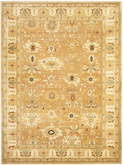 Safavieh Heirloom HLM1741-2420 Light Brown / Gold Rug