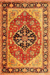 Safavieh Heriz HRZ101A Red / Multi Rug