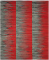 Safavieh Kilim KLM819C Red / Charcoal Rug