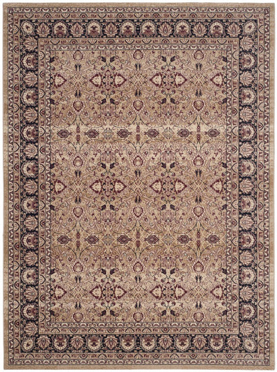 Safavieh Lavar Kerman LVK620A Cream / Navy Rug