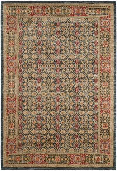 Safavieh Mahal MAH623K Light Blue / Red Rug