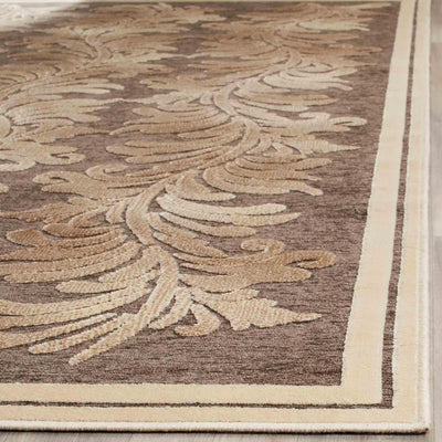 Safavieh Martha Stewart MSR4448D Plume Stripe Brown Rug