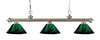 Z-Lite Riviera Brushed Nickel 200-3BN-ARG Island/Billiard Light