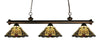 Z-Lite Riviera Olde Bronze 200-3OB-Z14-46 Island/Billiard Light