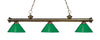Z-Lite Riviera Antique Brass 200-3AB-PGR Island/Billiard Light