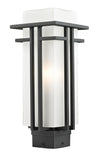 Z-Lite Abbey 549PHM-BK Outdoor Light