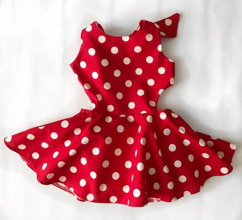 Polka dot RED Josie