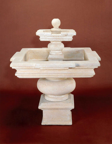 Fontana Quadra by Giannini Garden Ornaments - Elegant Water Features - 1