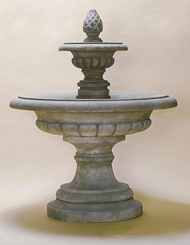 Fontana Grande Fountain by Giannini Garden Ornaments - Elegant Water Features - 1