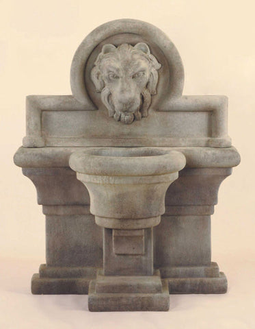 Leone Grande Wall Fountain by Giannini Garden Ornaments - Elegant Water Features - 1