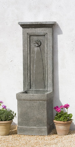 Outdoor Wall Fountain. $1,490.00. Auberge Fountain By Campania  International : Elegant Water Features