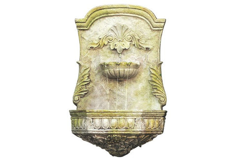 "29"" Scroll Fountain by Orlandi Statuary 