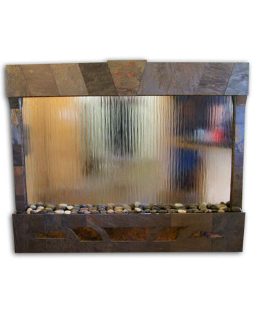 Indoor Wall Water Fountains, Online Wall Fountain ‐ Elegant Water ...