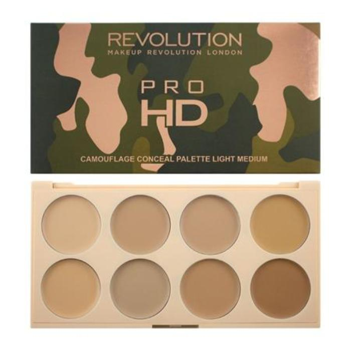 Makeup Revolution Ultra Pro HD Camouflage Light Medium