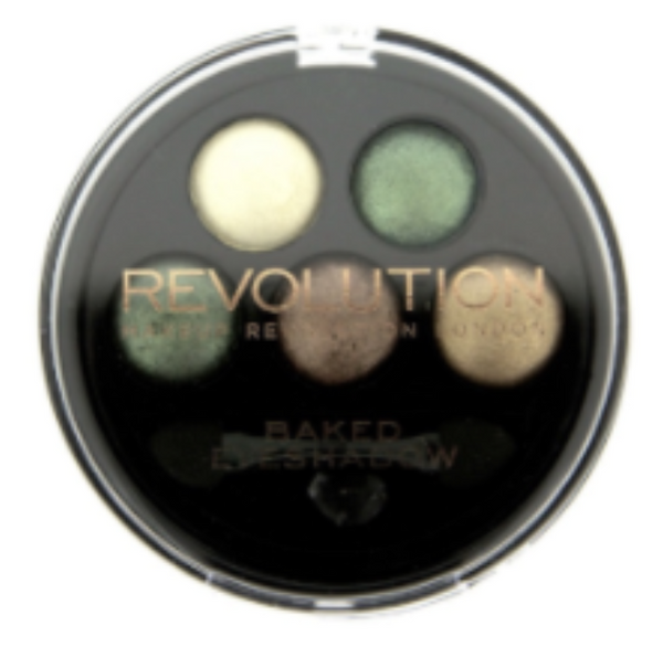 Makeup Revolution 5 Baked Eyeshadows-Beyond Eden