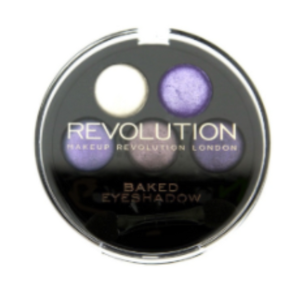 Makeup Revolution 5 Baked Eyeshadows-Electric Dreams