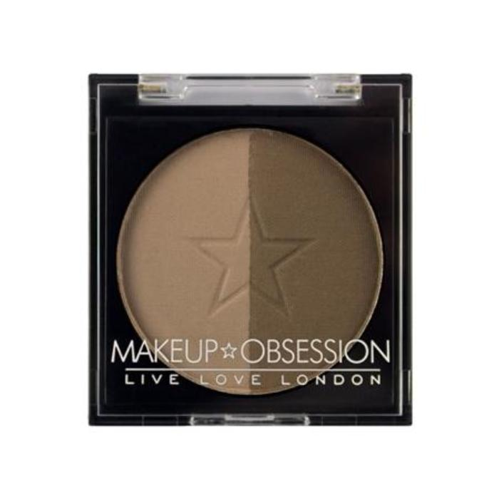 Makeup Obsession Brow Duo Powder BR105 Medium Brown