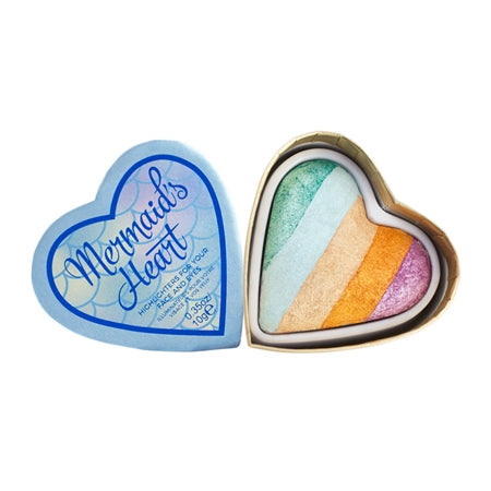 Makeup Revolution I Heart Makeup Mermaid's Heart Highlighter