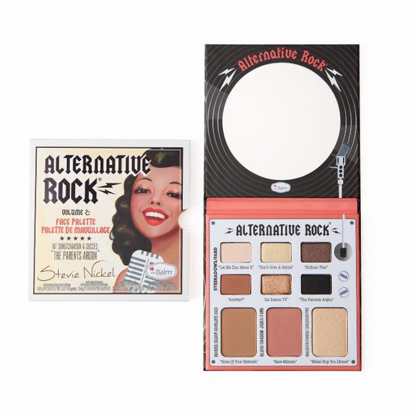 theBalm Alternative Rock® Vol. 2 Face Palette