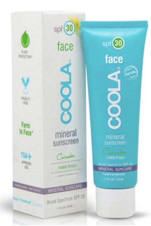 COOLA FACE SPF 30 CUCUMBER MATTE FINISH 50ml