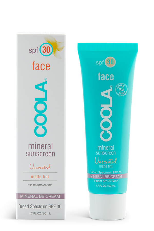 *pre-order 2 weeks* COOLA FACE SPF 30 UNSCENTED MATTE TINT 50ml