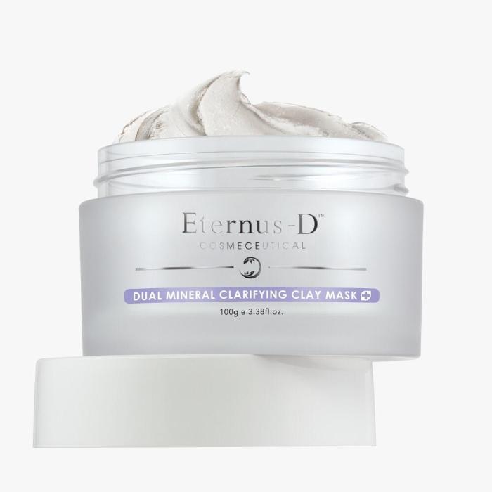 Eternus-D Dual Mineral Clarifying Clay Mask 100g