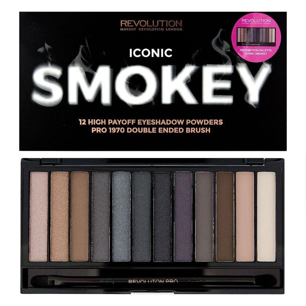 Makeup Revolution Iconic Smokey Palette