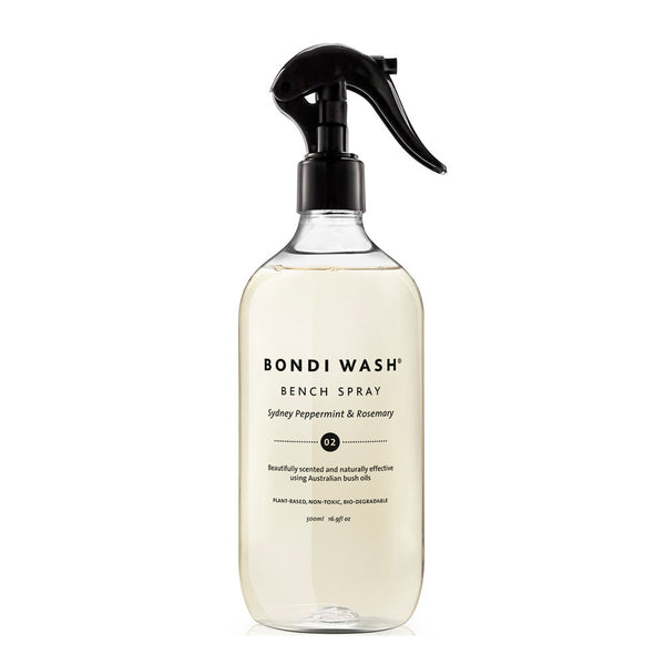 BONDI WASH Bench Spray Sydney Peppermint & Rosemary 500ml