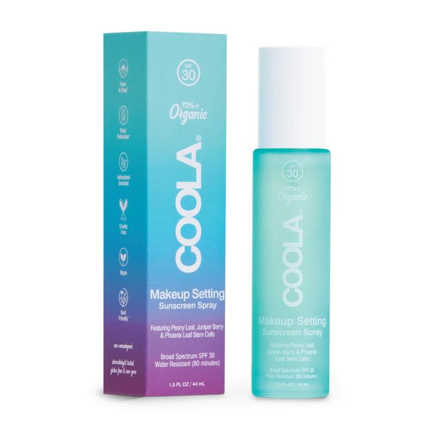 COOLA MAKEUP SETTING SPRAY ORGANIC SUNSCREEN SPF 30 44ml