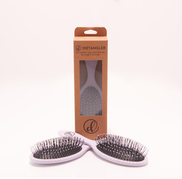 The Detangler Hair Brush - Lavender
