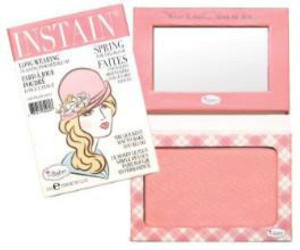 theBalm INSTAIN® Long-Wearing Powder Staining Blus Argyle(Petal Pink) 6.5g