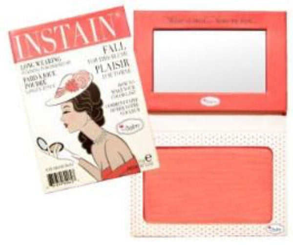theBalm INSTAIN® Long-Wearing Powder Staining Blush Swiss Dot(Peach) 6.5g