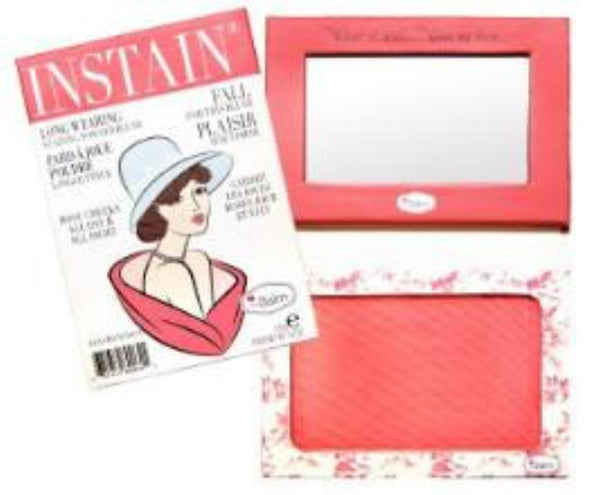 theBalm INSTAIN® Long-Wearing Powder Staining Blush Toile(Strawberry) 6.5g