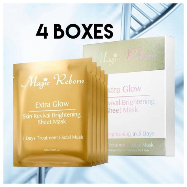 *pre-order 4 weeks* Magic Reborn Extra Glow Mask Set **4 BOXES** (5 pcs per box)