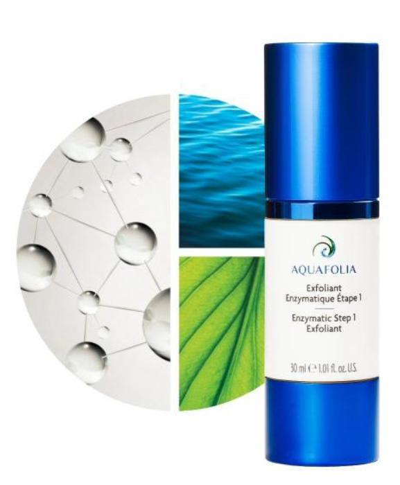 *pre-order 8-10 weeks* Aquafolia Exfoliant Enzymatique étape/Enzymatic Exfoliant Step 1 30ml