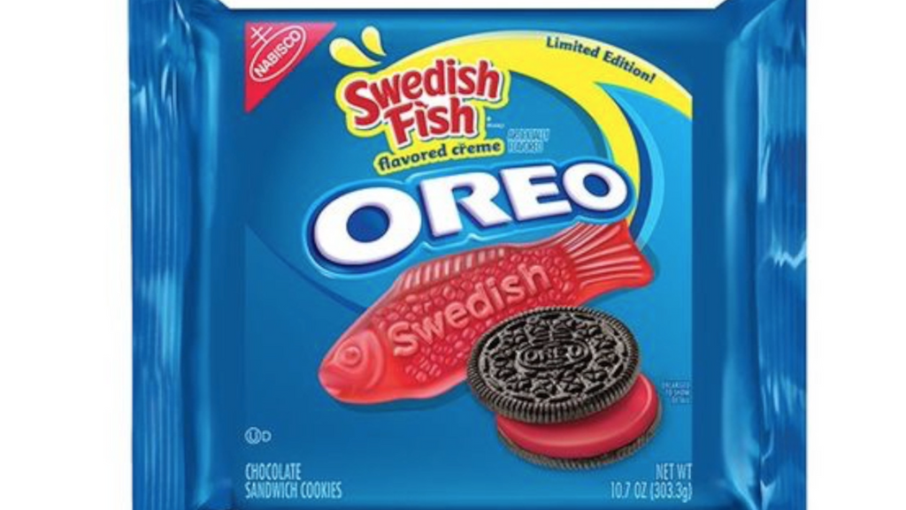 Swedish Fish Oreo Cookies Released!