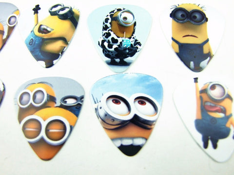 Despicable Me Minion Guitar Picks - the Weird Store - 1