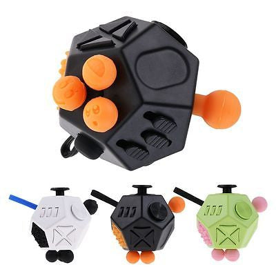 The Beast Fidget Cube  – 12-sided Ultimate Fidget Stress Reduction Cube (Free Shipping)