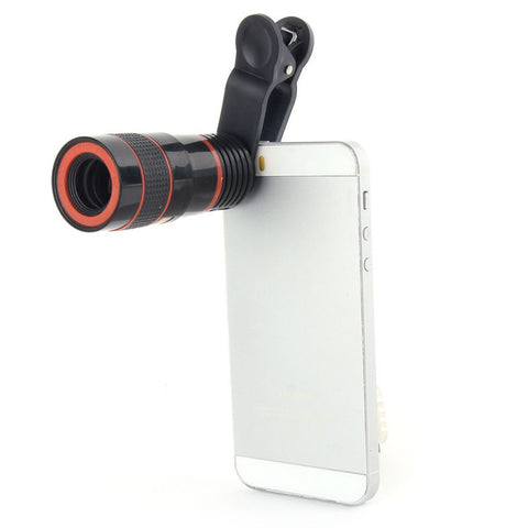 8x Zoom Telescope Telephoto Camera Lens for Smartphone