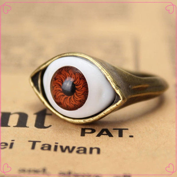 Retro Vintage Evil Eye Finger Ring (Free Shipping) - the Weird Store - 7