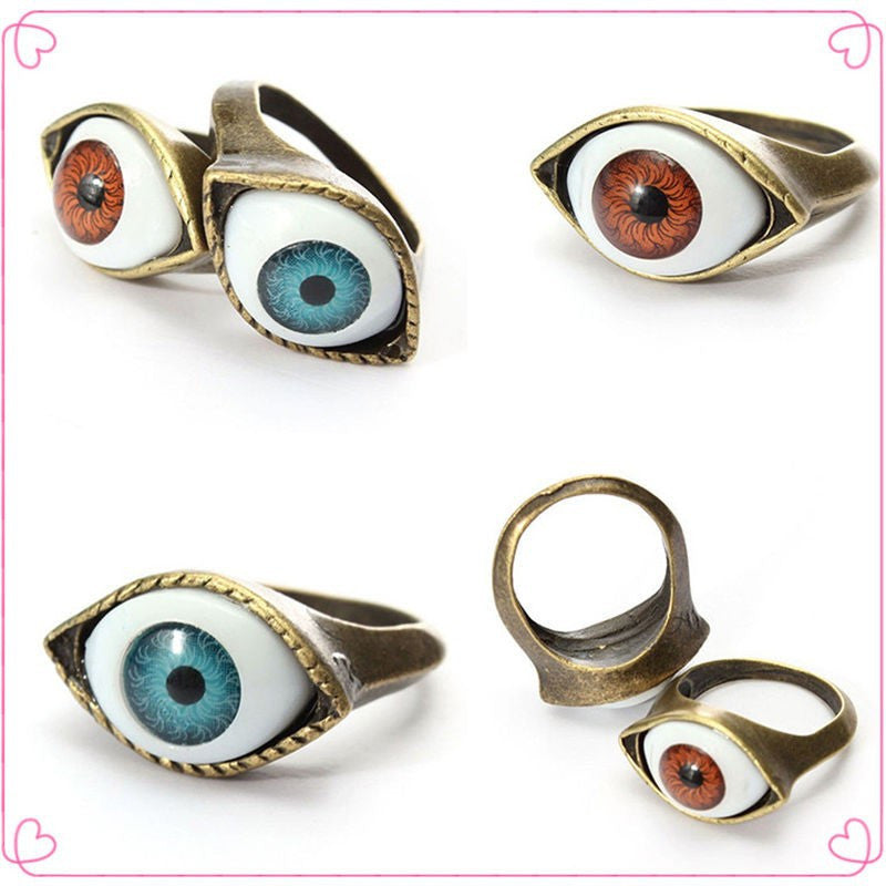 Retro Vintage Evil Eye Finger Ring (Free Shipping) - the Weird Store - 1