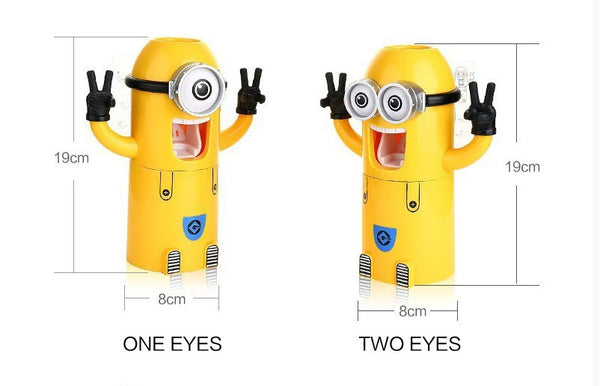 Minions AUTOMATIC TOOTHPASTE DISPENSER (Free Shipping) - the Weird Store - 4