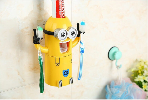 Minions AUTOMATIC TOOTHPASTE DISPENSER (Free Shipping) - the Weird Store - 9