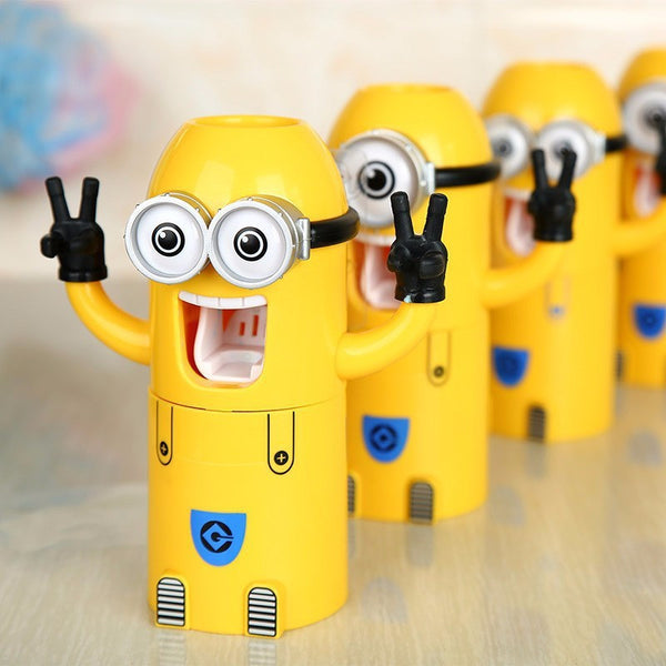 Minions AUTOMATIC TOOTHPASTE DISPENSER (Free Shipping) - the Weird Store - 3