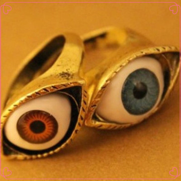 Retro Vintage Evil Eye Finger Ring (Free Shipping) - the Weird Store - 8