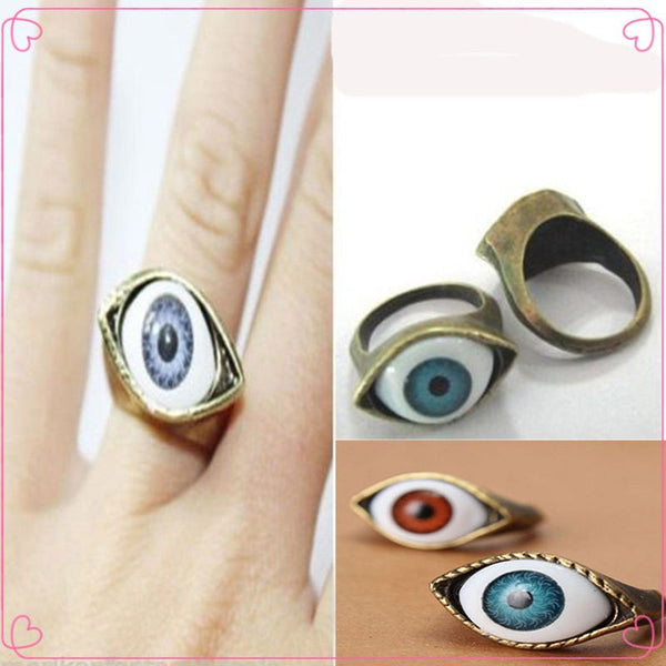 Retro Vintage Evil Eye Finger Ring (Free Shipping) - the Weird Store - 3